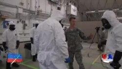 Ebolaga qarshi kurash - US Troops/Ebola