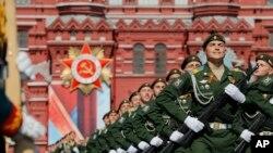 Russia Victory Day Parade စစ္ေရးျပ အခမ္းအနား ( ေမာ္စကို၊ ႐ုရွား ေမ ၉၊ ၂၀၁၆)