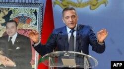 Moulay Hafid Elalamy, le président du comité de candidature du Maroc au Mondial 2026, à Marrakech, au Maroc, 8 avril 2015.