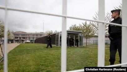 Une prison à Fleury-Merogis, près de Paris, le 27 avril 2016 (REUTERS/Christian Hartmann).