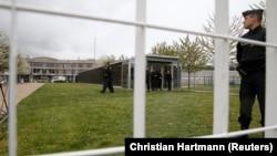 La prison de Fleury-Merogis en France.
