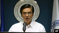 Phát ngôn viên Bộ ngoại giao Philippines Charles Jose.