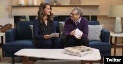 Bill y Melinda Gates. Foto: @melindagates.