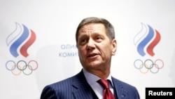 俄羅斯奧委會主席茹科夫(資料圖)