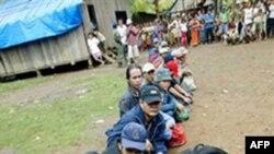 Người Thượng từ Việt Nam chạy sang Campuchia năm 2004 chờ đăng ký với Cao ủy Tị nạn Liên hiệp quốc trong tỉnh Ratanakiri