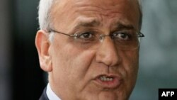 صائب عریقات مذاکره کننده ارشد فلسطینی ها
