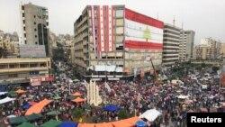 لبنان میں کئی روز سے حکومت مخالف احتجاج جاری ہے — فائل فوٹو