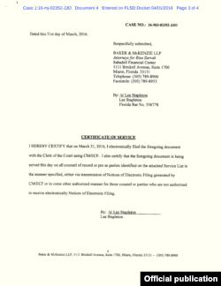 Rıza Sarraf'ın avukatlarının mahkeme başvurusu (Sayfa 3)