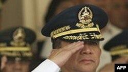 Tướng Eduardo Oban, tham mưu trưởng quân đội Philippines