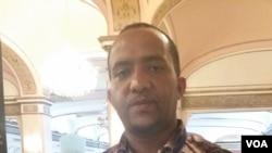Eritrean Tesfay Ghebreslasse at YALI 2015