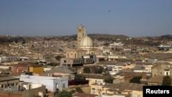 L'Église Kidane Mihret dans la capitale de l'Érythrée, Asmara, le 19 février 2016.