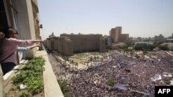 Площадь Тахрир, 8 Июля 2011г.