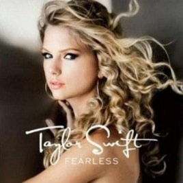 "Taylor Swift's ""Fearless"" CD"