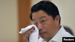 Tư liệu- Ông Dương Vệ Trạch trong một cuộc họp tại Nam Kinh, ngày 19 tháng 07 năm 2012.