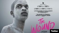 "L'affiche du film sud-africain ""The wound""."