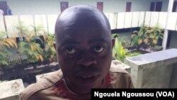 Moïse Lantoum, activiste des droits des autochtones dans la Sangha, Congo-Brazzaville, 29 novembre 2017. (VOA/Ngouela Ngoussou)