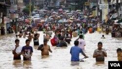 فلپائن میں سیلاب