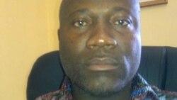 Secretario do SINPROF, Martinho Nganga Jamba
