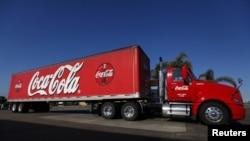 可口可樂的運貨車(資料圖片)