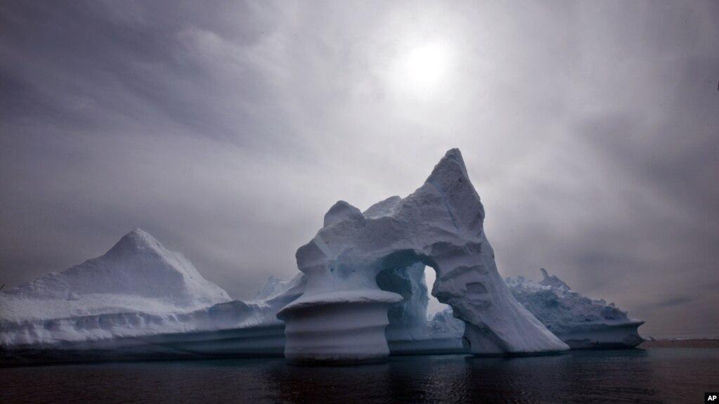 La desaparición del hielo marino en el Ártico en el mes de enero preocupa a los científicos.