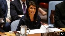 """خانم هیلی خشونت ها علیه مسلمانان روهنگیایی را """"مایه شرمساری"""" برای رهبران میانمار خواند."""