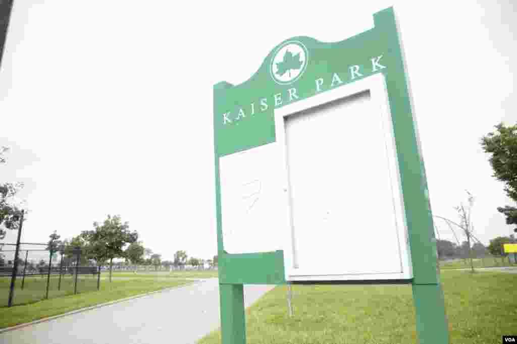 Turnir Kayzer parkida o'tkazildi.
