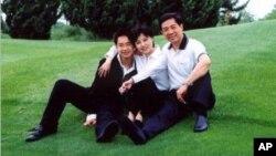 薄熙来夫妇和儿子薄瓜瓜(资料照片)
