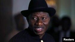 尼日利亚总统乔纳森。