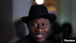 Nigerian President Goodluck Jonathan, May 9, 2014.