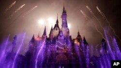 El parque temático de Disney en Shanghái, China, será inaugurado el jueves, 16 de junio de 2016.