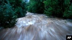 科羅拉多博爾德縣在暴雨後造成洪水氾濫。