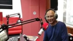 Finlay Salesse de Radio One à Maurice sur les Chagos