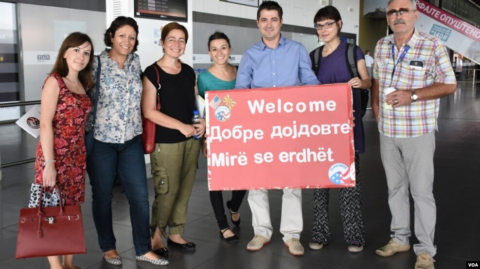Vullentarë të Korpusit të Paqes në Maqedoni