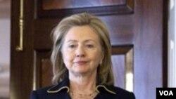 Menlu AS Hillary Clinton (foto: dok) menyatakan keprihatinannya atas pemugaran sebuah hotel bersejarah di Yerusalem.