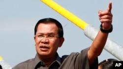 """Phát biểu tại một buổi lễ tốt nghiệp ở Phnom Penh, ông Hun Sen nói rằng """"83% biên giới đã được cắm mốc, và vẫn còn 17% chưa làm""""."""