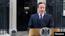 برطانوی وزیر اعظم ڈیوڈ کیمرون (فائل فوٹو)