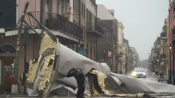 颶風艾達登陸路易斯安州後已經減弱
