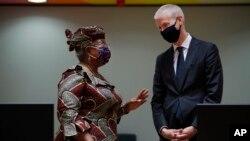 Ngozi Okonjo-Iweala, da Ministar Cinikayya na kasar Faransa Franck Riester