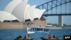 به رغم اعتراضات بسیاری، دولت استرالیا هنوز سیاست های سخت گیرانه خود را در ارتباط با پناهجویان غیرقانونی ادامه می دهد