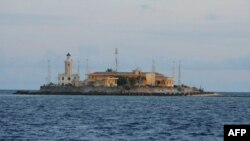 Սփրաթլի կղզիախմբի կղզիներից մեկը