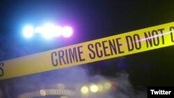 Dos individuos dispararon indiscriminadamente contra una multitud el sábado por la noche en un popular lugar de Nueva Orleáns dejando tres personas muertas y siete heridas. Foto: NOPD News.
