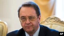 عکس آرشیوی از میخائیل بوگدانف معاون وزیر امور خارجه روسیه
