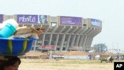 Le stade des Martyres à Kinshasa, RDC