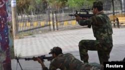 巴基斯坦警衛人員於爆炸事件後提高警戒。