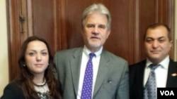Mahmud Bilgin, ABŞ Senatoru Tom Coburn və Ayda Kərimli