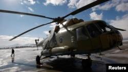Helikopter Ml-17 buatan Rusia (foto: ilustrasi).