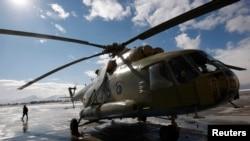 Helikopter MI-17 buatan Rusia di Kabul, Afghanistan (foto: ilustrasi).