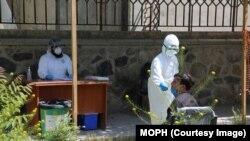 په افغانستان کې د کرونا ویروس د مثبتو پېښو شمېر ۴۰۷۶۸ ته پورته شو.