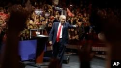 ترامپ در اوهایو؛ یک دسامبر ۲۰۱۶