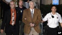 Jerry Sandusky podría pasar el resto de su vida en la cárcel.